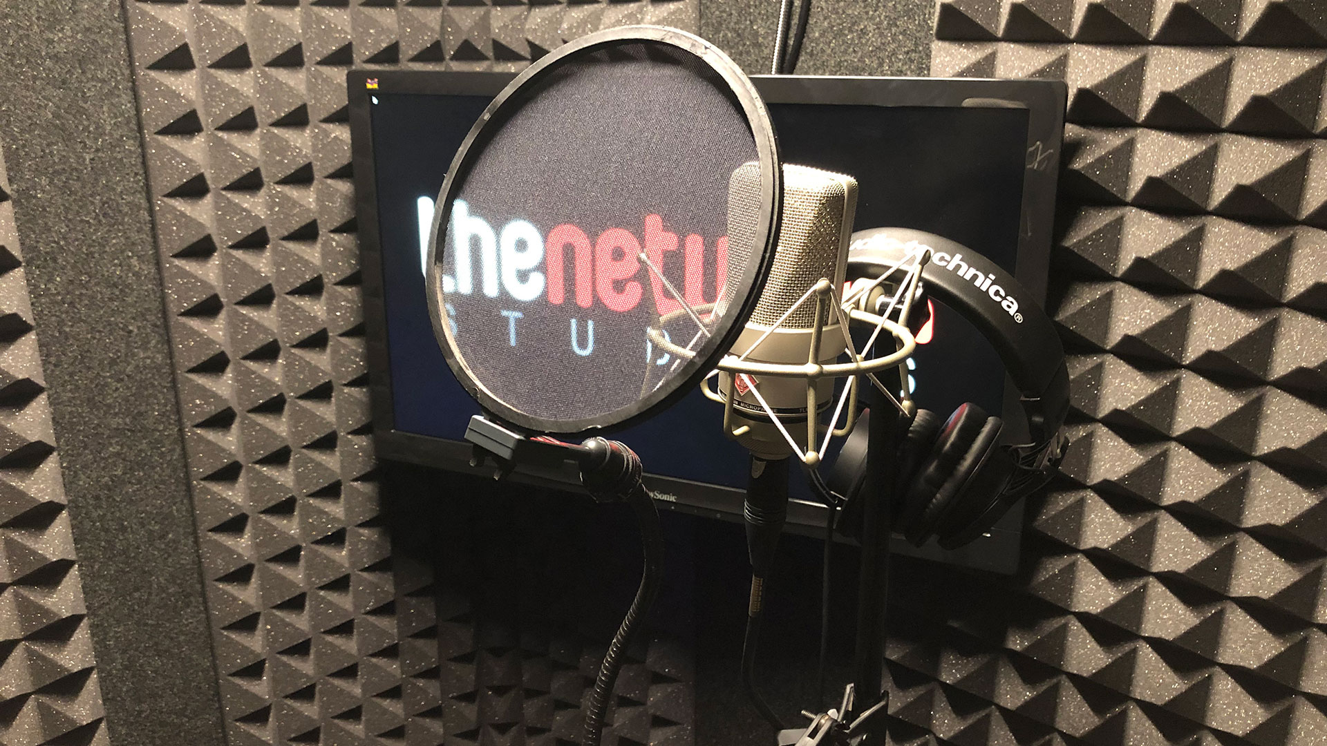 Room #3 - Voiceover Booth